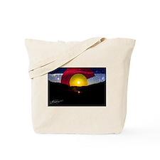 Colorado and the Sun Tote Bag