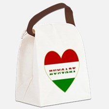 HungaryInMyHeart Canvas Lunch Bag