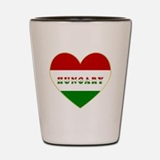 HungaryInMyHeart Shot Glass