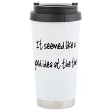 Funny Faux Travel Mug