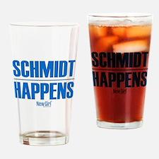 New Girl Schmidt Drinking Glass