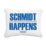 Schmidt new girl Rectangle Canvas Pillows