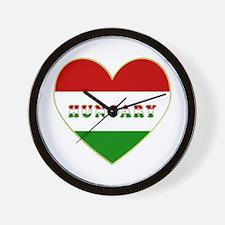 HungaryInMyHeart Wall Clock