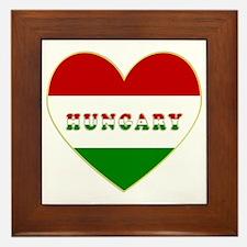 HungaryInMyHeart Framed Tile