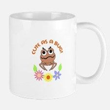 CUTE AS A BUG FLOWERS Mugs