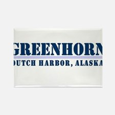 Greenhorn Dutch Harbor Rectangle Magnet