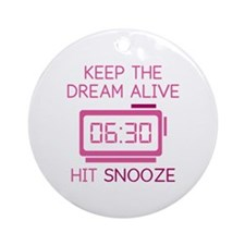 Keep The Dream Alive Ornament (Round)
