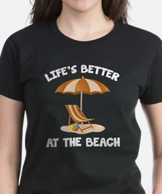 Life's Better At The Beach Tee