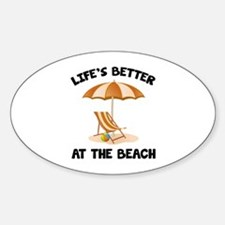 Life's Better At The Beach Decal