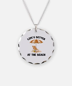 Life's Better At The Beach Necklace