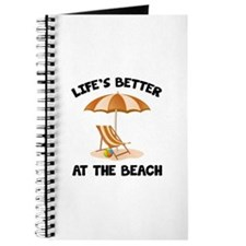 Life's Better At The Beach Journal