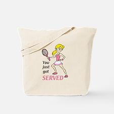 YOU GOT SERVED Tote Bag