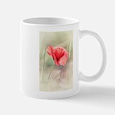 Wild Poppy Flower Mugs