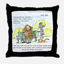 Aqualung, My Ex-Friend Throw Pillow