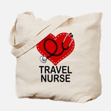 Travel Nurse Tote Bag
