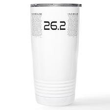 Cute 26.2 Travel Mug