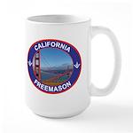 The California Freemason Large Mug