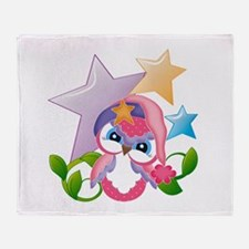 Miss Hoot - Throw Blanket
