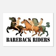 BAREBACK RIDERS Postcards (Package of 8)