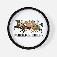 BAREBACK RIDERS Wall Clock