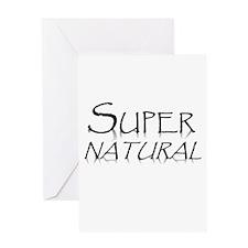 SuperNaturalrush.jpg Greeting Cards