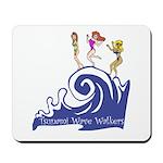 Tsunami Wave Walkers Mousepad