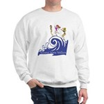 Tsunami Wave Walkers Sweatshirt