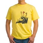 Tsunami Wave Walkers Yellow T-Shirt
