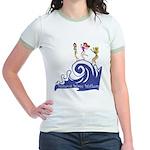 Tsunami Wave Walkers Jr. Ringer T-Shirt