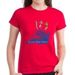 Tsunami Wave Walkers Women's Dark T-Shirt