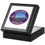 The California Freemason Keepsake Box