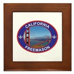 The California Freemason Framed Tile