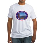 The California Freemason Fitted T-Shirt