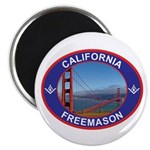 The California Freemason Magnet