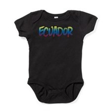 Ecuador Baby Bodysuit