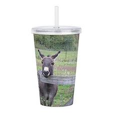 Miniature Donkey II Acrylic Double-wall Tumbler