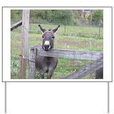 Donkeys Yard Signs