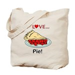 I Love Pie Tote Bag