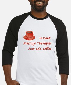 Instant Massage Therapist Baseball Jersey