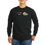 I Love Pie Long Sleeve Dark T-Shirt