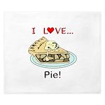 I Love Pie King Duvet