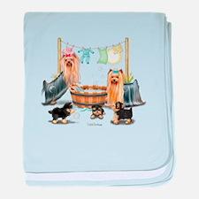 Laundry Day ByCatiaCho baby blanket