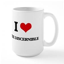 I Love The Discernible Mugs