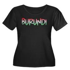 Burundi Plus Size T-Shirt