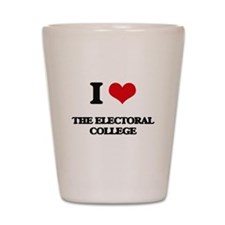 I love The Electoral College Shot Glass