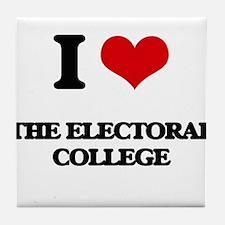 I love The Electoral College Tile Coaster