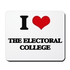 I love The Electoral College Mousepad