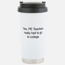 Phys ed Travel Mug