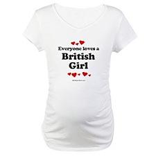 Everyone loves a British girl Shirt