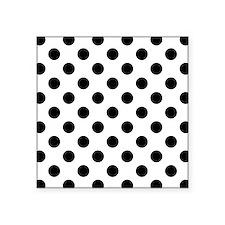 Black and White Polka Dots Sticker